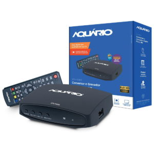 Conversor e gravador digital full hd p/ tv com usb e filtro 4g dtv-7000s