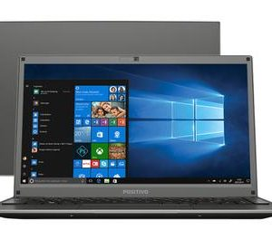 "Notebook Positivo Motion Intel Celeron Dual – Core 4GB 500GB 14"" Windows 10"