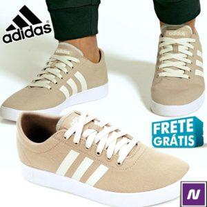 Tênis Adidas Easy Vulc 20 Masculino Bege+Branco