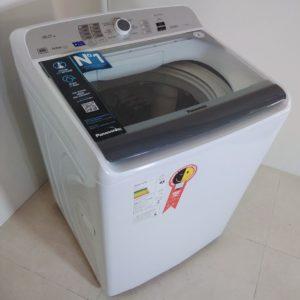 Lavadora de Roupas Panasonic NA-F160B6WB – 16Kg Cesto Inox 9 Programas de Lavagem