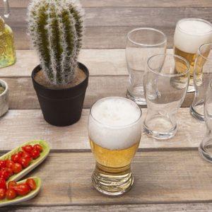 Jogo de Copos de Vidro para Cerveja 220ml – 6 Peças Nadir Frevo