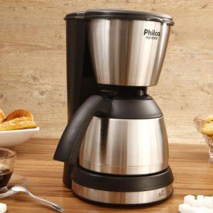 Cafeteira Elétrica Philco PH30 Thermo Aço 30 Xícaras – filtro permanente, removível e lavável – 110V/220V