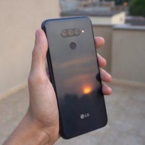 "Smartphone LG K12 Prime 64GB Preto 4G Octa Core – 3GB RAM Tela 6,26"" Câm. Dupla + Câm. Selfie"