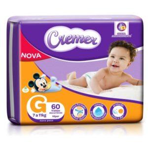 Fralda Cremer Disney Baby Tam. G – 60 Unidades