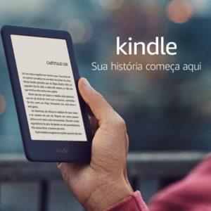 """Kindle 10ª Geração Tela 6"""" 8GB Wi-Fi Luz Embutida"""