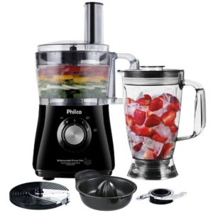 Multiprocessador Philco All in One 2 Citrus – 2 Velocidades + Pulsar 800W