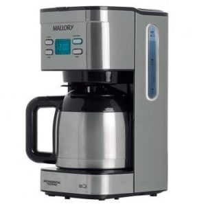 Cafeteira Mallory Aroma Digital Thermic 1.2L para até 32 Cafézinhos 110V/220V
