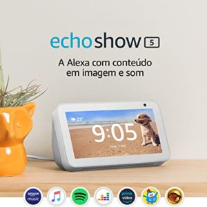 Echo Show 5 – Smart Speaker com tela de 5,5″ e Alexa