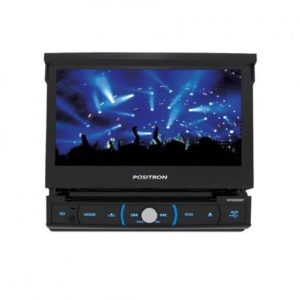 "DVD Automotivo Positron LCD 7"" – Retrátil Touch Bluetooth 4X20 Watts RMS"