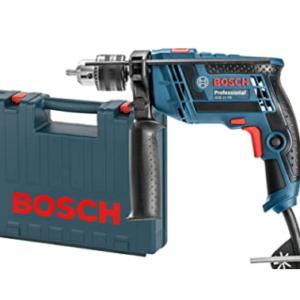 Furadeira de Impacto Bosch 650W GSB 13 RE Azul Rotação reversível