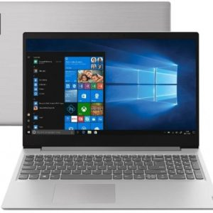"Notebook Lenovo Ideapad Intel Dual Core – 4GB 500GB 15,6"" Windows 10 Home"
