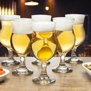 Jogo de Taças para Cerveja Vidro 6 Peças 400ml – Ruvolo Panama