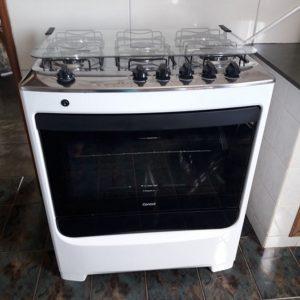 Fogão 5 Bocas Consul – Acendimento Automático – forno Limpa + Fácil tecnologia Cleartec