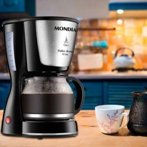 Cafeteira Elétrica Mondial Dolce Arome 32 Xícaras – 110v/220v