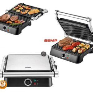 Grill Semp Hype Style 1270W Inox – 110V/220V