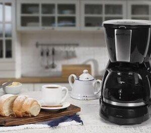 Cafeteira Elétrica Britânia CP15 Xícaras – Preto e Inox