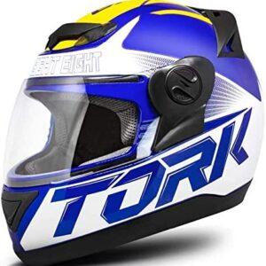 Capacete Pro Tork Evolution G7 56 Azul/Amarelo