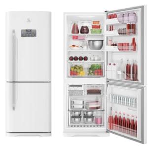 Geladeira/Refrigerador Electrolux Frost Free – Bottom Freezer Branca 454L DB53 – 110V/220V