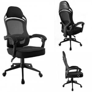 Cadeira Escritório Presidente Gamer Preta NEW Con...