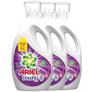 Sabão Líquido Ariel Concentrado Com Toque De Dow...