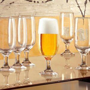 Conjunto de Taças de Vidro para Cerveja 300ml Nad...