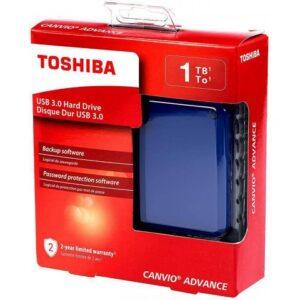 HD Externo Portátil Toshiba Canvio Advance 1TB Az...