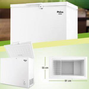 Freezer Horizontal 200 Lts H200L Philco – 110V/220v