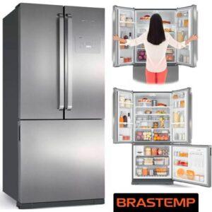 Geladeira Brastemp Frost Free Evox – Inverse 540,6L Ative!