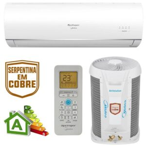 Ar-condicionado Split Springer Midea 12.000 BTUs Quente e Frio Air Volution Fixed Speed – 220v