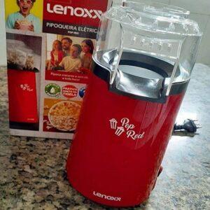 Pipoqueira Elétrica Lenoxx Pop Red 3 Xícaras de ...