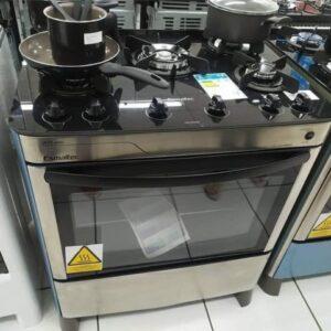 Fogão 5 Bocas Esmaltec Acendimento Automático Agata Glass – Bivolt