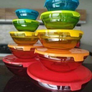 Conjunto de Tigelas de Vidro 10 Peças – Casambiente