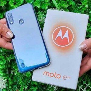 "Motorola Moto E6S 64GB Azul Navy 4G Octa-Core 4GB RAM 6,1"" Câm. Dupla + Selfie"