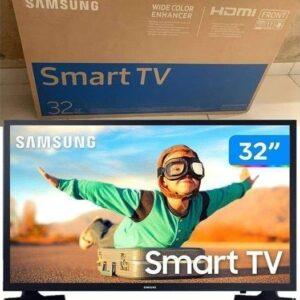 Smart TV LED 32″ Samsung 32T4300 HD WIFI HDR para Brilho e Contraste Plataforma Tizen 2 HDMI 1 USB – Preto