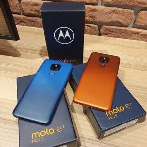 "Motorola Moto E7 Plus 64GB Bronze Âmbar – 4G Octa-Core 4GB RAM 6,5"" Câm. Dupla + Selfie"