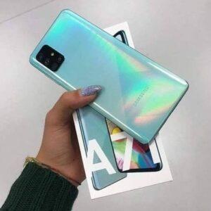 "Samsung Galaxy A71 128GB 4G – 6GB RAM Tela 6,7"" Câm. Quádrupla 64MP + Selfie 32MP"