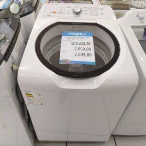 Lavadora de Roupas Brastemp BWH15 AB 15kg Ciclo Edredom Especial – 110v/220v