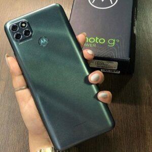 "Motorola Moto G9 Power 128GB 4G 4GB RAM Tela Max Vision 6,8"" Câm. Tripla 64MP + Selfie Super Bateria 6000mAh"