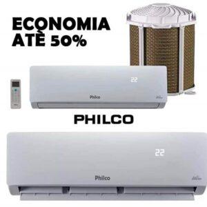 Ar-condicionado Split Philco Inverter 12.000 BTUs – Frio 12000ITFM9W – 220v