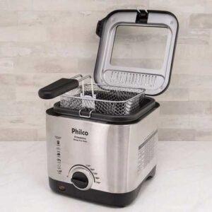 Fritadeira Elétrica Philco Deep Fry 1,8 Litros Inox – 110v/220v