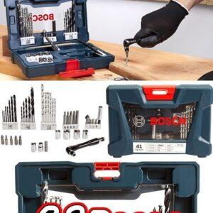Kit Ferramentas Bosch 41 Peças V-Line 41 – com Maleta