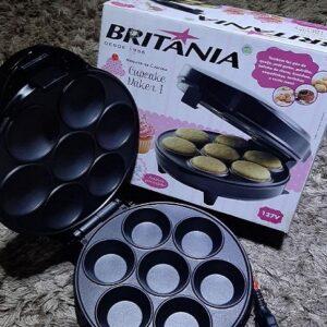 Máquina de Cupcake Britânia Cupcake Maker 1200W – 110v/220v