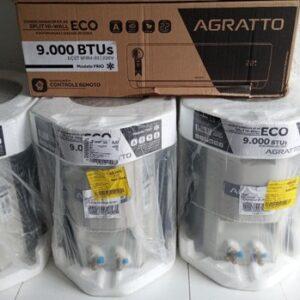 Ar Condicionado Split HW Agratto Eco Top 9.000 BTUs Só Frio – 220V