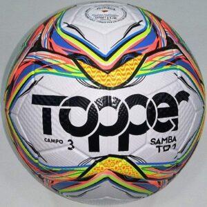 Bola de Futebol de Campo Topper Samba TD1 Campo Oficial – semi-profissional