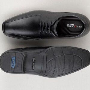 Sapato Couro Democrata Conforto Alpha Flex Masculino – Num. 37 ao 42