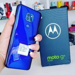 "Motorola Moto G9 Play 64GB 4G Octa-Core 4GB RAM 6,5"" Câm. Tripla 48MP + Selfie"