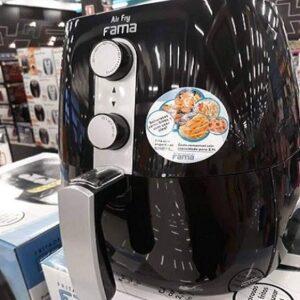 Fritadeira Elétrica Sem Óleo/Air Fryer Fama Preta 4 Litros com Timer – 110v
