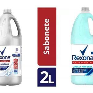 Sabonete Líquido para as Mãos Antibacteriano – Rexona Antibacterial – 2 Litros