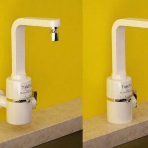 Torneira Elétrica Hydra Slim 5500W 4 Temperaturas Parede ou Bancada – 110v/220v