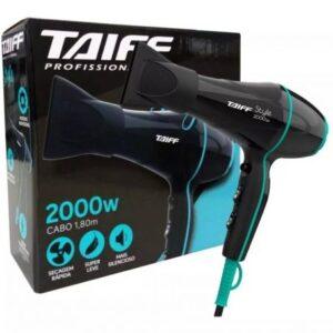 Secador de Cabelo Taiff Style Preto 2000W – 2 Velocidades – 110v/220v
